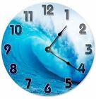 "CRASHING WAVE Clock - Large 10.5"" Wall Clock - 2119"