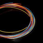 PTFE F4 Tubing (ID_0.9mm OD_1.2mm )Rigid Pipe (Red/Blue/Black/Yellow/Translucent
