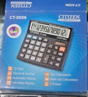 Citizen CT-555N Desktop Calculator Best Use for Home Office Store Free Shipping