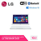 LG Tab Book Duo 10T550-B83 Tablet PC 10.1 Inch 32GB Ram 2GB Quad-Core Windows 10