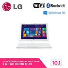 """LG Tab Book Duo 10T360-B83 Tablet PC 10.1"""" 32GB Wi-Fi Quad-Core Windows10 Black"""