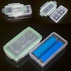Waterproof Plastic Case Battery  Box Storage Holder For 18650 16340 Batteries