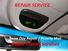 Lincoln Navigator / Town Car Overhead Console Temp Compass Fuel Display Repair