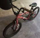 "BMX BIKE HARO 20"" F1C SERIES RED FREESTYLE/STREET/PARK/TRICK/RAMP"