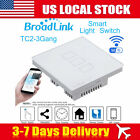 US LOCAL! Broadlink 3 Gang Wireless Smart Touch Wall Panel Control Light Switch