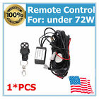 Wiring Harness Kit Remote Control Switch for Under 72W Led Work Light 18W 24W MS