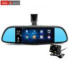 Junsun 7 inch Special Car GPS Navigation Mirror Bluetooth Android 16GB Car