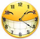 """10.5"""" BIG GRIN EMOJI CLOCK - Large 10.5"""" Wall Clock - Home Décor Clock - 3028"""