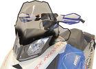 Powermadd Cobra Windshield Clear with Black Fade 13432