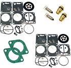 SeaDoo Dual Mikuni Carburetor Rebuild Kit & Needle Seat & Carb Gasket SPX 94-95