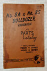 1952 N0. 8A & 8S Bulldozer Hydraulic Parts Catalog, Caterpillar Tractor Co #3045