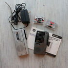 2  Microcassette Recorders Ge 3-5383A and 3-5325C Working plus Cassettes