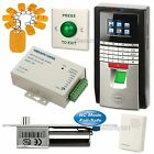 Fingerprint RFID Access Control System Kit + Electric Bolt Lock NC Fail Safe