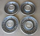 1962 Cadillac Hubcap & Crest Original Wheelcover Set (4) Used Hubcaps 62