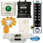 DIY Access Controller RFID Key Ring Kit + Electric Strike Door Lock NC Fail Safe