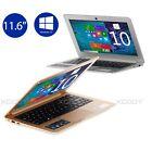 "11.6"" Windows10 Netbook 32GB Intel Atom Z3735 Quad Core Webcame HDMI Laptop PC"