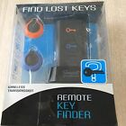 "FIND LOST KEYS ""REMOTE KEY FINDER""WIRELESS TRANSMISSION-2 COLOR CODED RINGS"
