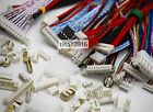 100PAIRS Micro JST 1.25 2 3 4Pin Male&Female Connector plug with Wires Cables