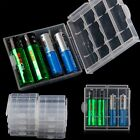 Practical Cover Hot Sale Plastic 4 Pcs Case Holder AA AAA Battery Storage Box