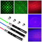 Laser Pointer Pen 5in1 5mw Green/Blue/Red Laser Pointer Pen SCF Laser Flashlight