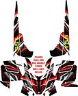 POLARIS RMK PRO, ASSAULT SNOWMOBILE DECAL WRAP KIT 05-16 PINNED DELUXE