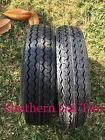 Two New 480-12 Deestone D901 Trailer Tire TL 6ply DS7266 4.80-12 48012