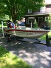 2000 FISHER MARINE AVENGER SC 14FT FISHING BOAT WITH 2005 40HP MERCURY OUTBOARD