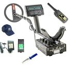 NEW White's MXT ALL PRO Metal Detector w/Booklets, DigMaster & Preminum Pouch
