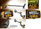 "Garrett Ace 300 Metal Detector & 8.5x11"" DD Waterproof Coil, Free shipping"