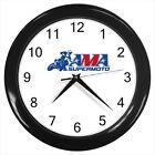 AMA Supermoto National Championship Logo #D01 Wall Clock