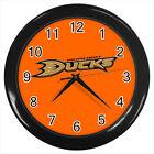 Anaheim Ducks Ice hockey team Logo #D01 Wall Clock