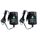 Power Supply Plug For CCTV Cameras DVR Strip LED Pack Of 2 Durable Long Lasting