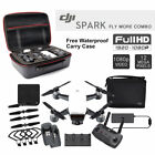DJI spark Remote Control flying camera selfie drone Fly more Combo w/Extra Case