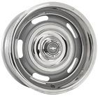 "CRP156 15x6 Chevy Rallye | 5x4 3/4"" bolt | 4.00"" backspace | Silver Powder Coat"