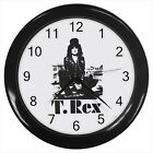 T Rex T. Rex English Rock band #D01 Wall Clock