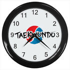 Taekwondo Korean Martial Art Logo #D01 Wall Clock