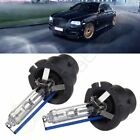 2X 7200LM 8000K D2S D2R HID Ultra White Replace HID Headlights Light Kits 70W
