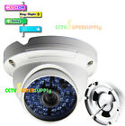 2.0MP AHD 1080P BLUE 48LED IR OUTDOOR Security DOME CCTV Camera Waterproof 6mm60