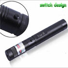 Safety Adjustable 532nm 10Miles Green Laser Pointer Pen with instructions