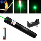 Adjustable Military 532nm Green Laser Pointer Pen With power supply Top Seller