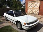 1987 Acura Legend L 1987 Acura LEGEND L Honda V6 Coupe AT White 2 Door Leather 105K Original Miles!!