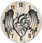 """10.5"""" WINGS OF LOVE CLOCK - Living Room Clock - Large 10.5"""" Wall Clock - 4068"""