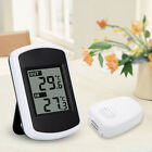 Hot Digital LCD Wireless Thermometer Weather Station with Sensor Indoor FHKS3