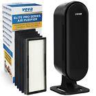 VEVA 8000 Elite Pro Series Air Purifier True HEPA Filter  4 Premium Activated