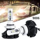 2x100W 12000LM 9006 COB 6000K LED Headlight 12V Car Upgrade Conversion Bulbs kit