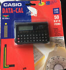 CASIO DATA-CAL DC-200 BK POCKET DATABANK CALCULATOR VINTAGE NEW