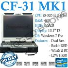 TB CF-31 MK1, i5-520M@2.40GHz,4GB,500GB, Emissive KBD, DualPass, LOW HRS #HS15-2