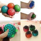 Squishy Balls 4 PCS Randomly Mesh Stress Splat Pressure Relief Squeeze Grape NEW