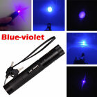 New 10Miles 405nm Blue-Purple/Violet Laser Pointer Pen Visiable Beam Laser Ray