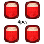 4X Red White 16 LED Truck Trailer for Jeep JK TJ CJ Stop Turn Signal Tail Light